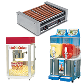 Concession Stand Equipment Rental