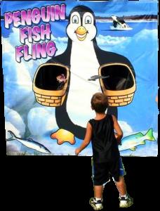 Penguin Fish Fling Carnival Game